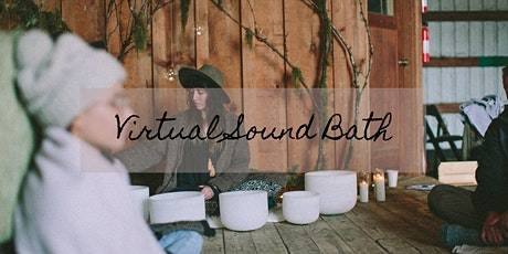 Virtual Sound Bath tickets