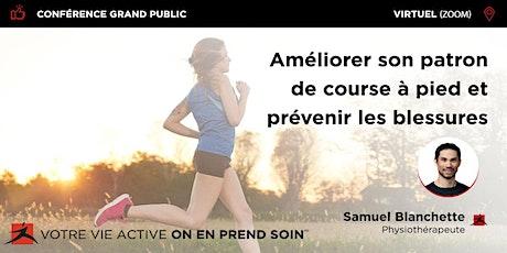 Améliorer son patron de course à pied et en prévenir les blessures billets