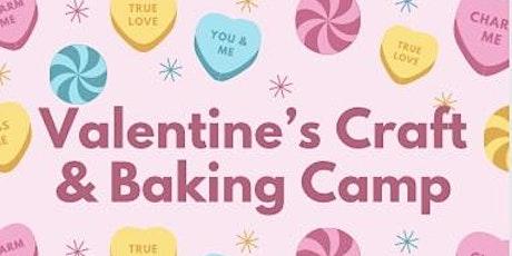 Valentines Craft & Baking Camp tickets