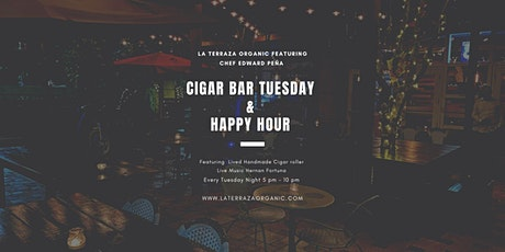 Cigar bar Tuesday  &  Happy Hour tickets