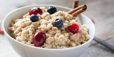 Meals in Minutes-Cooking with your Instant Pot: Steel-Cut Oats tickets