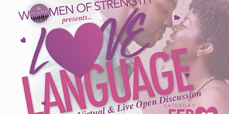 Love Language tickets