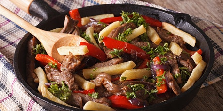Global Cuisine: Peruvian Lomo Saltado tickets