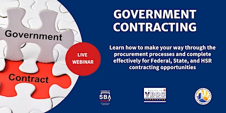 Government Contracting tickets