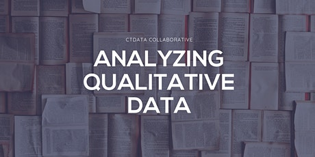 Analyzing Qualitative Data tickets