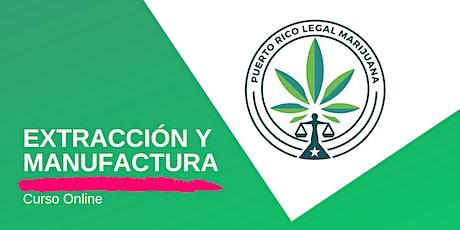 Extracciones y Manufactura de Cannabis | Online boletos