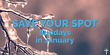 BBC Sunday Service on January 31, 2021 tickets