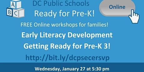 Early Literacy Development: Getting Ready for Pre-K3! tickets