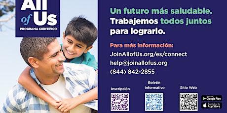 Sesión informativa: El futuro de la salud comienza con usted. tickets