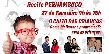 Super Seminário da APEC  Aliança Pró Evangelização das Crianças  Recife PE billets