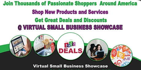 Virtual Small Business Showcase - For Consumers tickets