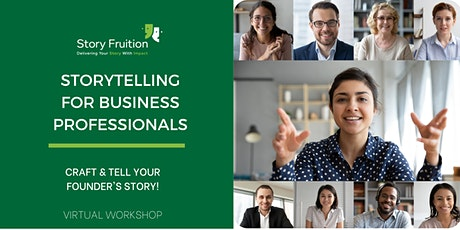 March 2021:  Storytelling Workshop For Business Professionals tickets