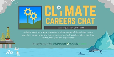 January 2021 Climate Careers Chat tickets