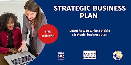 Strategic Business Plan tickets