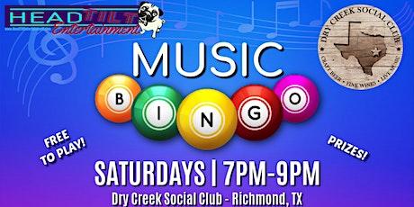 Music Bingo at Dry Creek Social Club tickets