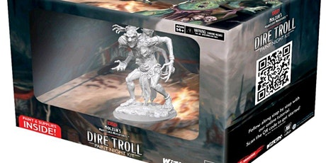 Dungeons & Dragons Dire Troll Paint Night tickets