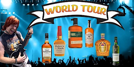 Whiskey World Tour with Dr Inkwell (ingredients included!) tickets