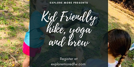 Family Hike, Yoga and Brew tickets