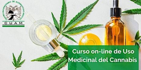 Curso de Uso medicinal del Cannabis boletos