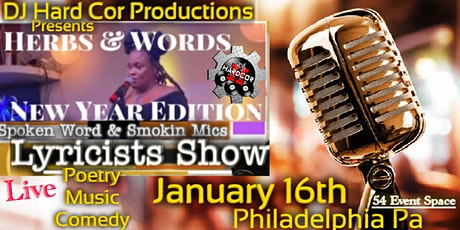 Herbs & Words Spoken Word & Smokin Mic Show tickets