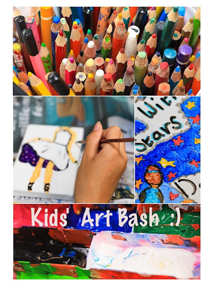 Kids' Art Bash - Event - Week-end image