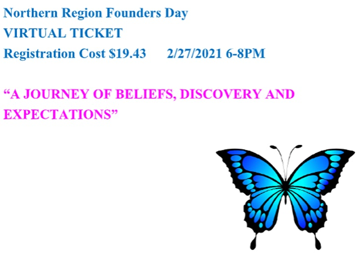 Northern Region Virtual Founder's Day image