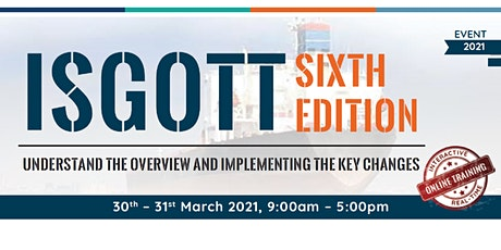 ISGOTT - Sixth Edition tickets