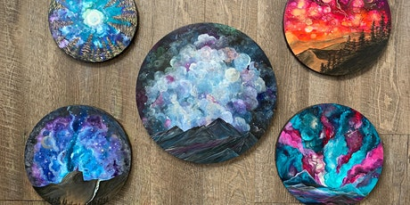 Moons, Planets and Galaxies - Acrylics with Jen Livia tickets