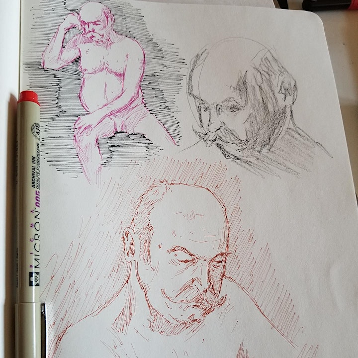 Online Life Drawing image