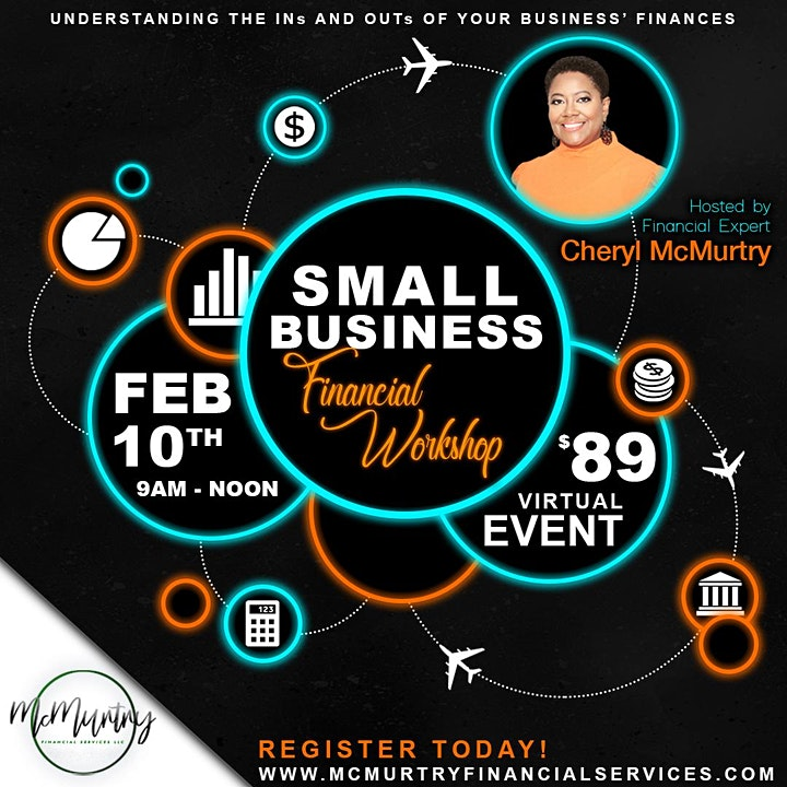 Small Business Financial Workshop a McMurtry Financial Services, LLC Event image
