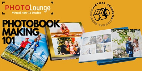 CREATE A PHOTOBOOK IN 1 HR OR LESS tickets