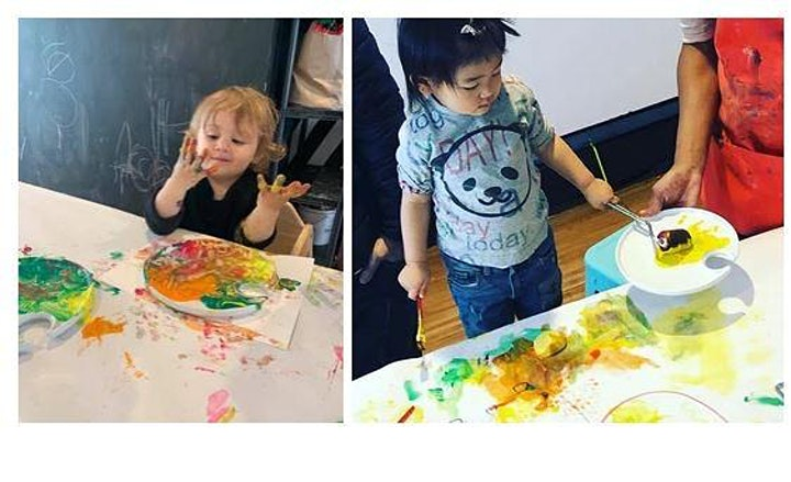 Grown Up and Me:  ART CLASS image