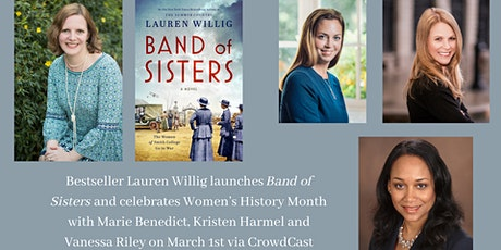 Bestseller Lauren Willig launches BAND OF SISTERS virtually tickets
