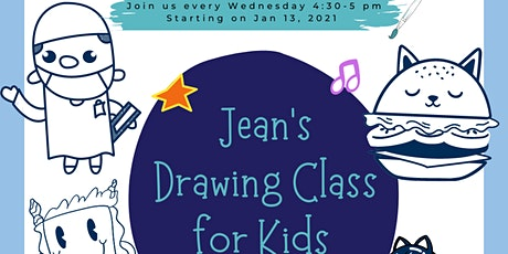 BNH virtual Jean's Drawing Class for Kids (Burnaby, BC) tickets