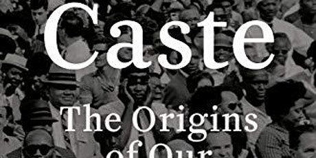 TheFCAC Presents:  A Virtual Book Discussion of Caste tickets