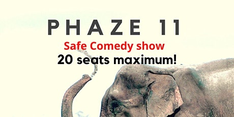 PHAZE 11- Live  Safe Comedy Show in New York City- The Upper West tickets