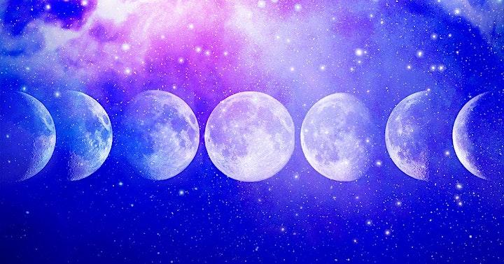 28 Day Moon Meditation Challenge image