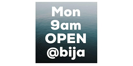 MONDAY 9AM BIJA YOGA OPEN CLASS 60m tickets