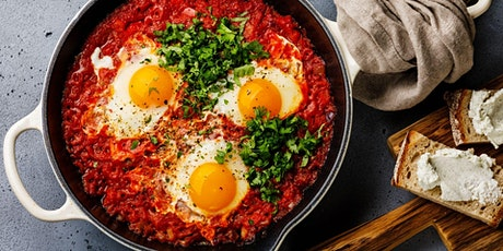 Homemade Events: FREE Shakshuka Cooking Class tickets