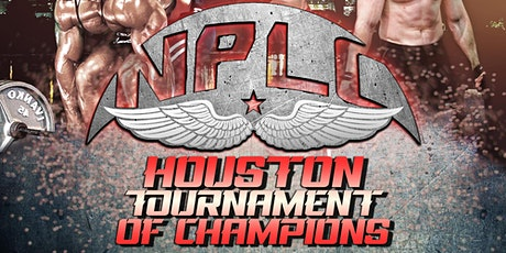 Houston Tournament of Champions - Powerlifting Competition w/ Strict Curl tickets