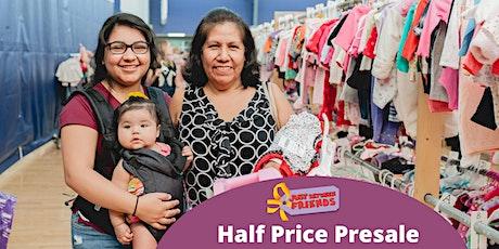 MEGA  Kids' Consignment Sale - Half Price Presale tickets