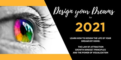 Design your Dream for 2021: Interactive Virtual Vision Board Workshop tickets