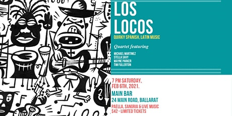 Los Locos Quartet with Spanish Night at The Main Bar tickets
