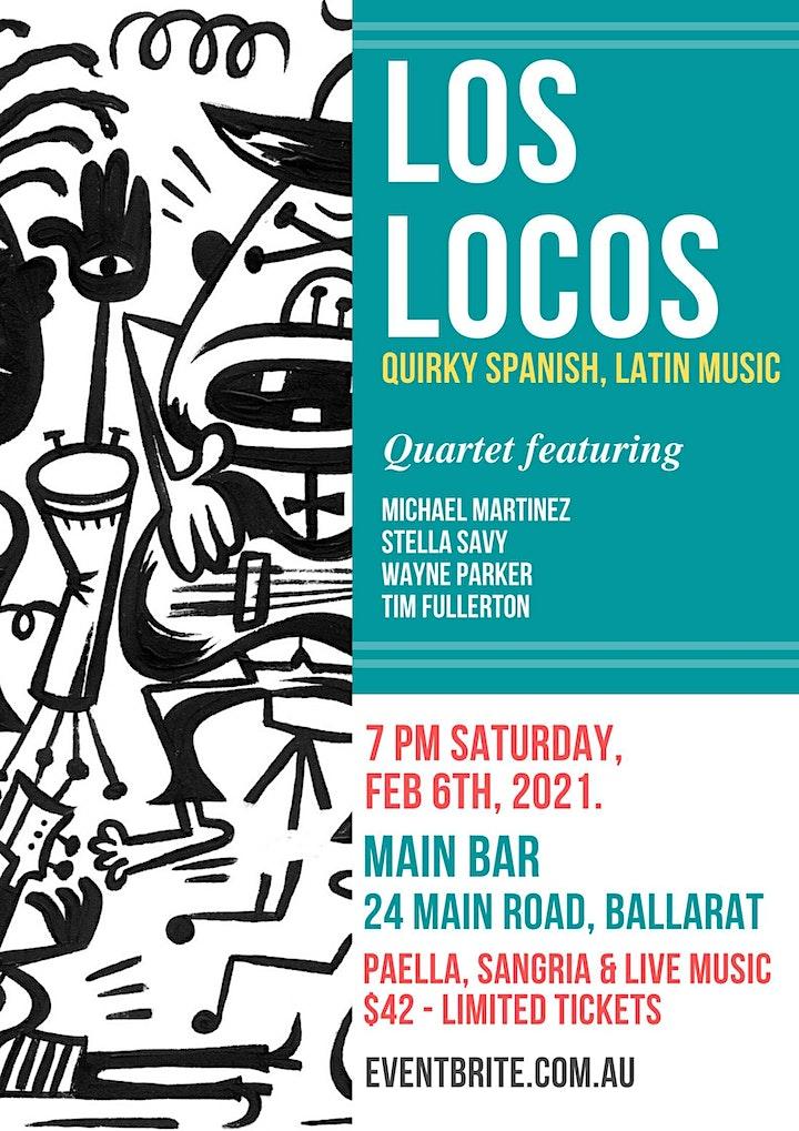 Los Locos Quartet with Spanish Night at The Main Bar image