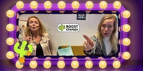 Bruisende Online TeamBOOST! tickets