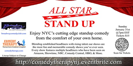 Broadway Comedy Club - All Star Stand Up tickets