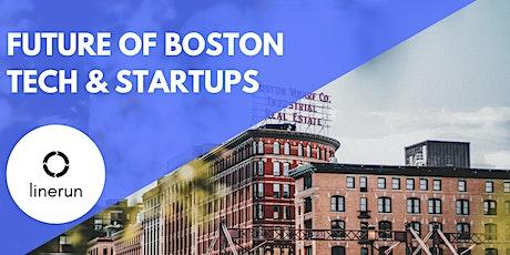 The Future of Boston Tech & Startups billets