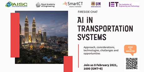 AI in Transportation Systems tickets