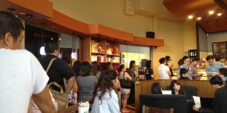 What is the target market for Starbucks Sharing Session tickets