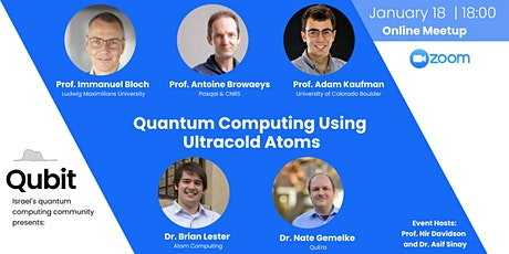 Quantum Computing using ultracold atoms tickets